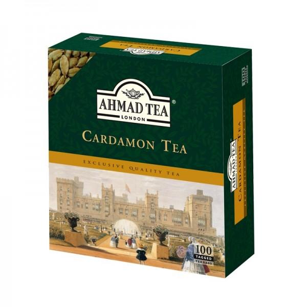 Ahmad Tea Cardamon Tea 100x Tea Bags