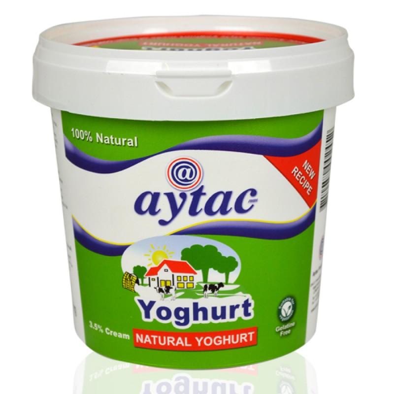 Aytac 100% Natural Yoghurt 3.5% Cream 1kg