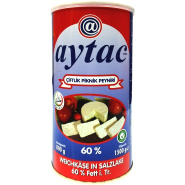 Aytac Farm Picnic Feta Cheese 60% 1.5kg
