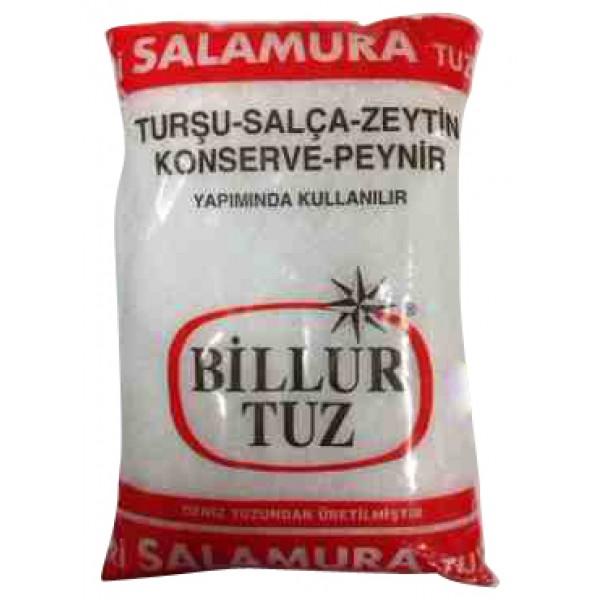 Billur Tuz Coarse Salt Brine 3kg