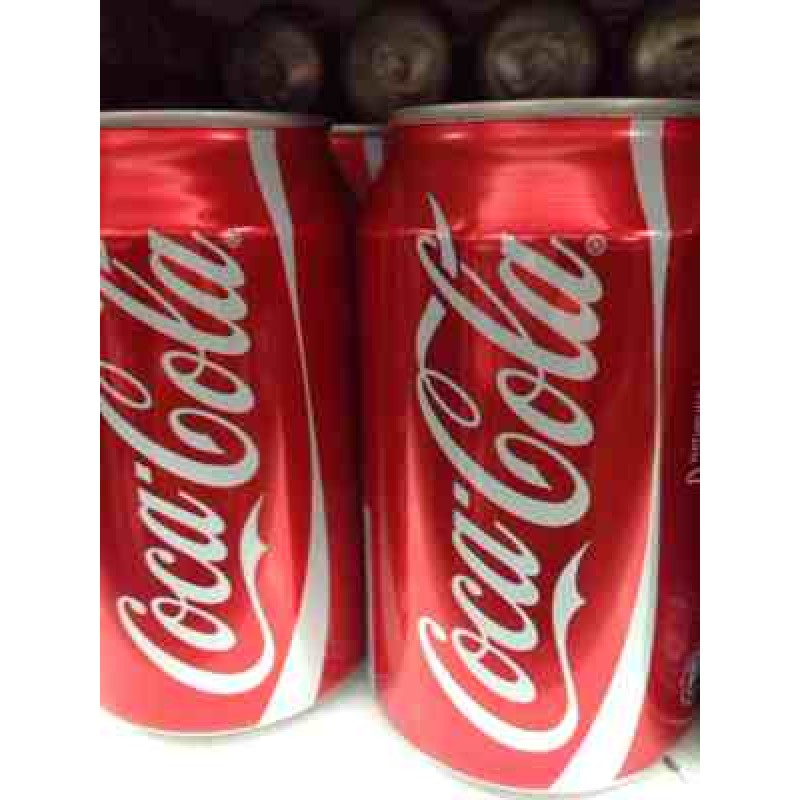 Can Of Coca Cola 330ml