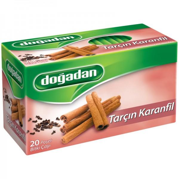 Dogadan Cinnamon Clove Tea 20 Tea Bags