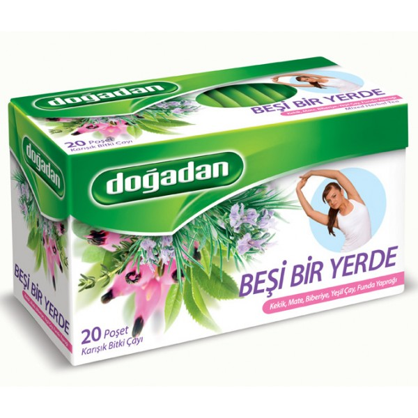 Dogadan Five In One Mixed Tea 20 Bags