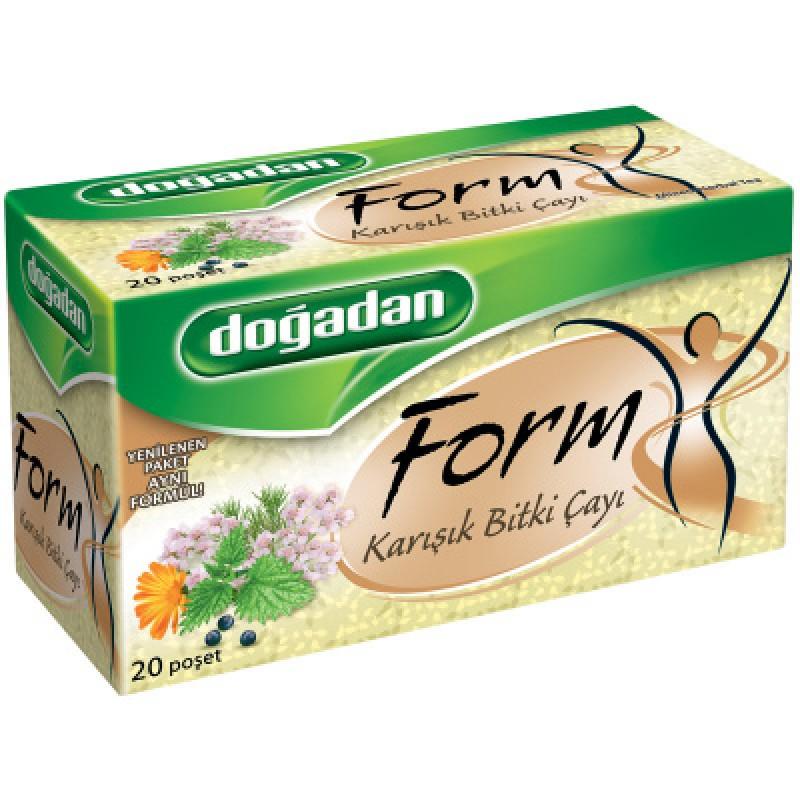 Dogadan Form Mixed Herbal Tea 20 Bags