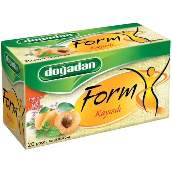 Dogadan Form With Apricot Tea 20 Bags