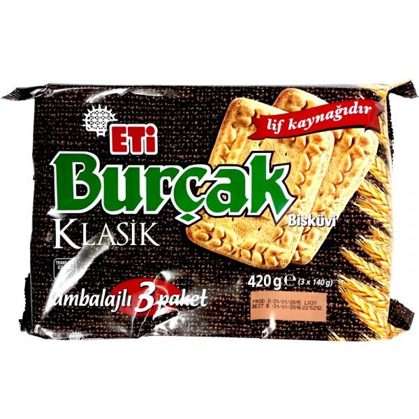 Eti Burcak Clasic Biscuits 3-Packed 393g