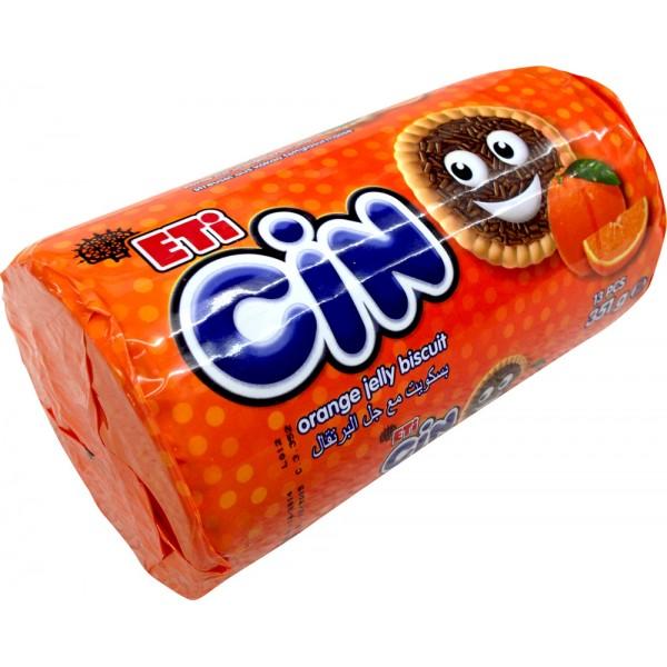 Eti Cin Orange Jelly Biscuits 13pcs