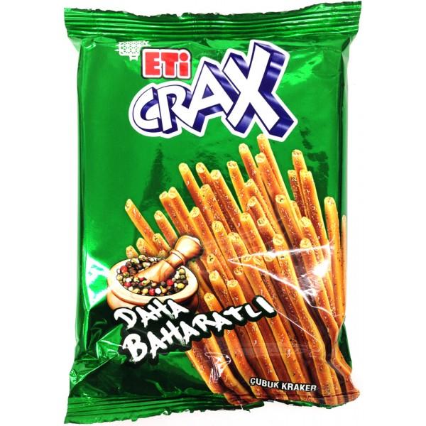 Eti Crax Extra Spicy Stick Crakers 136g