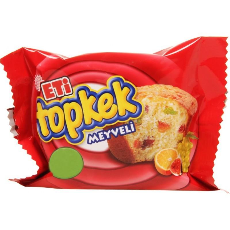 Eti Topkek With Fruits