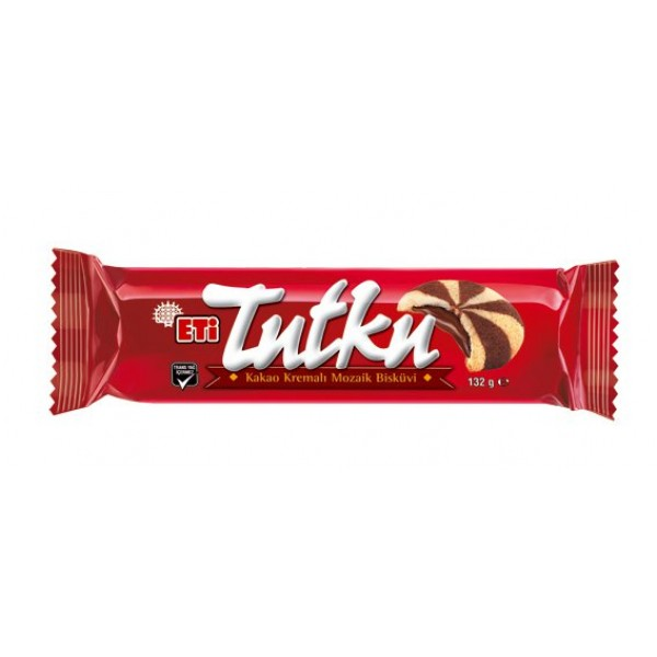Eti Tutku Mosaic Biscuit Filled With Cocoa Cream
