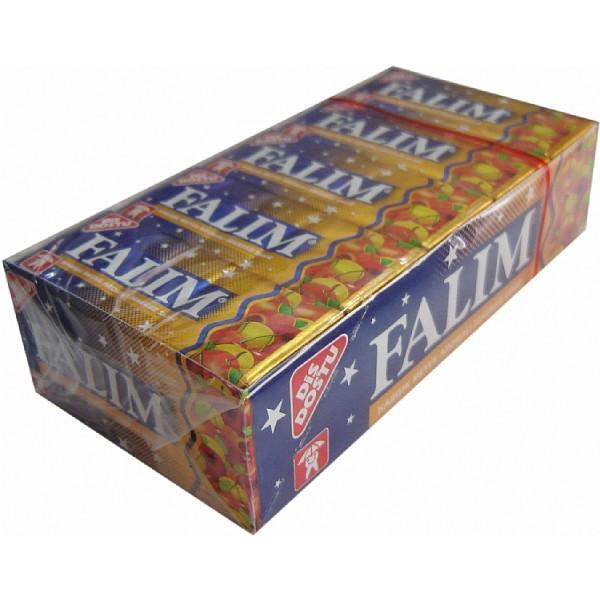 Falim Mixed Fruit Aromated Sugar Free Chewing Gum 20x 5pcs