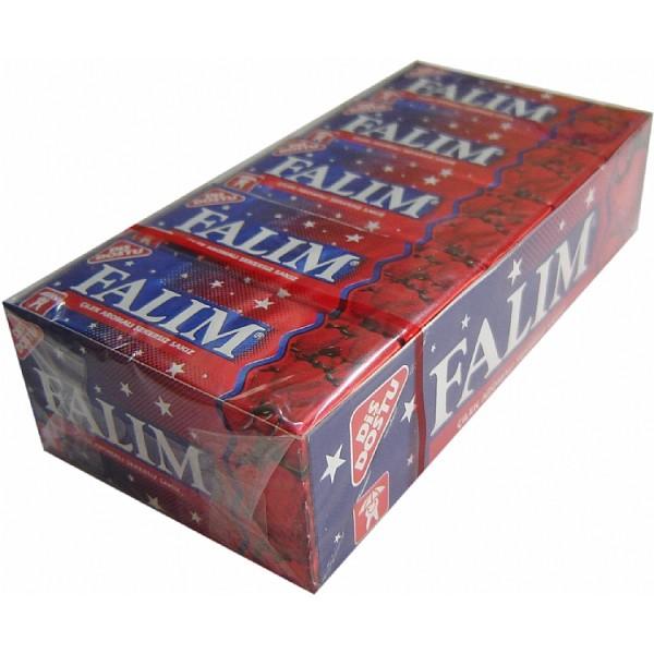 Falim Strawberry Aromated Sugar Free Chewing Gum 20x 5pcs