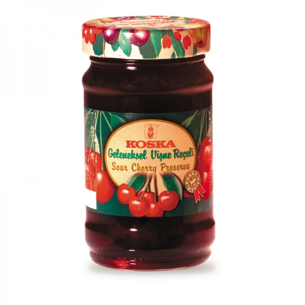Koska Sour Cherry Preserve/ Jam 380g