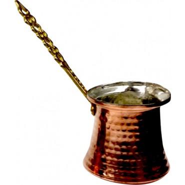 Copper Turkish Coffee Pot Large