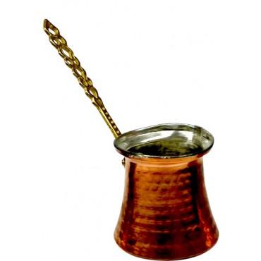 Copper Turkish Coffee Pot Medium