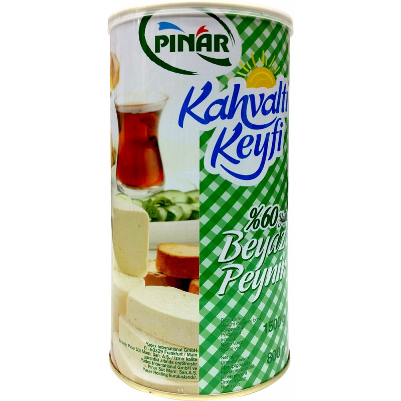 Pinar Feta Cheese For Breakfast 60%  1.5kg