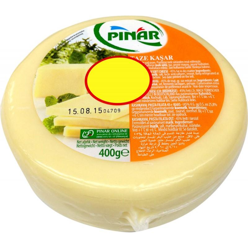 Pinar Fresh Kashkaval Cheese 400g