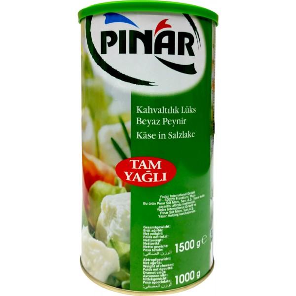 Pinar Full Fat Lux Feta Cheese 1.5kg
