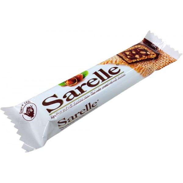 Sarelle Hazelnut And Milk Chocolate Cream FIlled Wafer