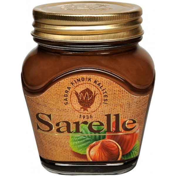 Sarelle Hazelnut Spread With Cocoa 350g