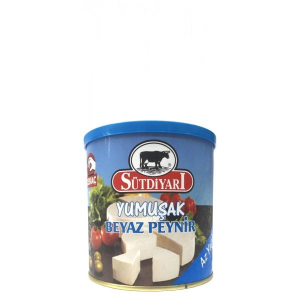 Sutdiyari Soft White Feta Cheese Less Fat 400g