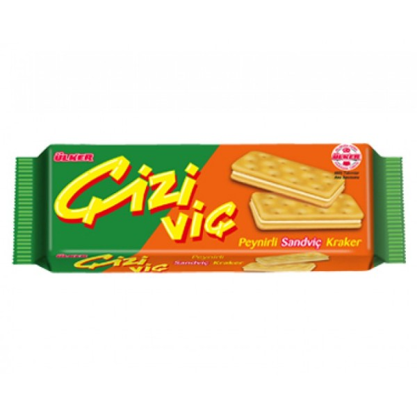 Ulker Cizi Cheese Sandwich Crackers
