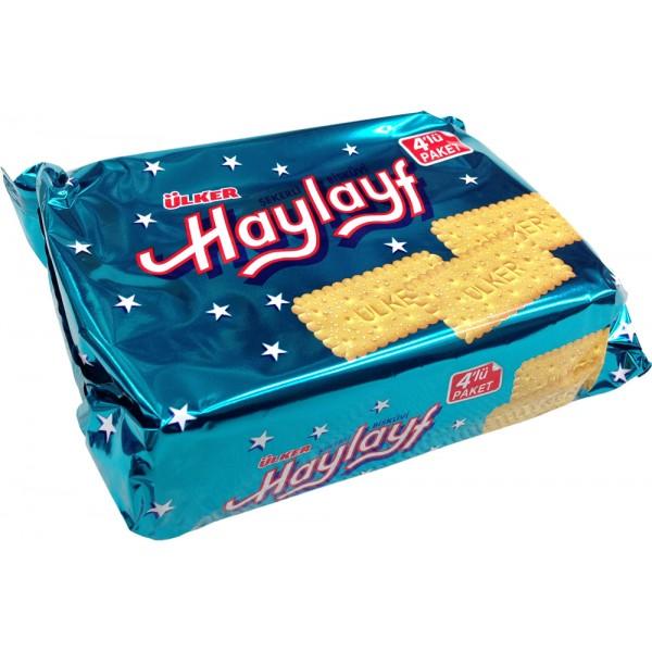 Ulker Haylayf Sugar Sprinkled Biscuits 4-Packed 276g