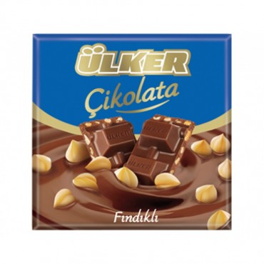 Ulker Milk Chocolate Bar with Nuts