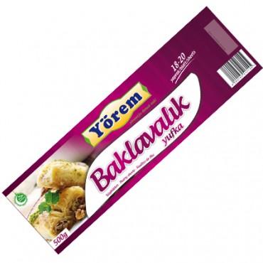 Yorem Baklava Phyllo Pastry 480g