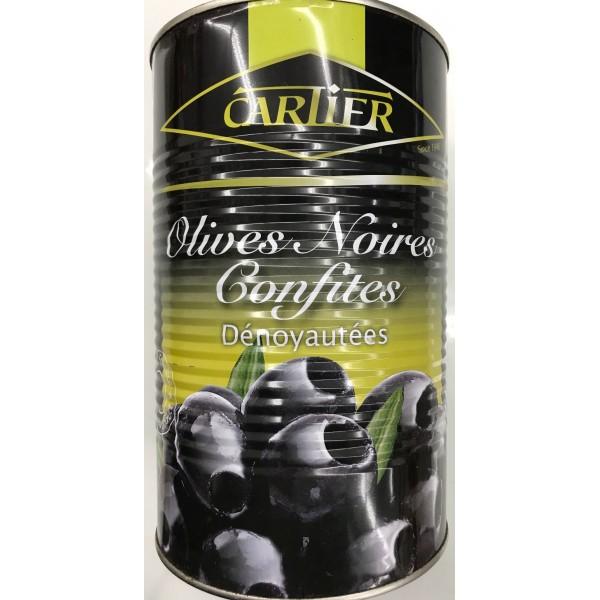 Carlier Black Olives 4250ml