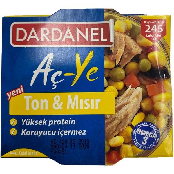 Dardanel Tuna Ve Corn 185gr