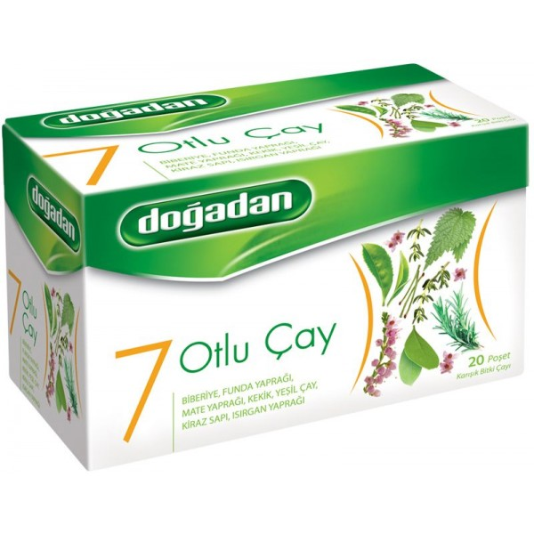 Dogadan 7 Herbs Mixed Herbal Tea 20 Bags