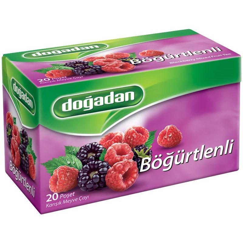Dogadan Blackberry Mixed Fruit Tea 20 Bags