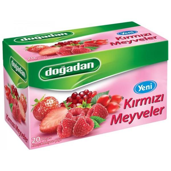 Dogadan Red Fruits Mixed Fruit Tea 20 Bags
