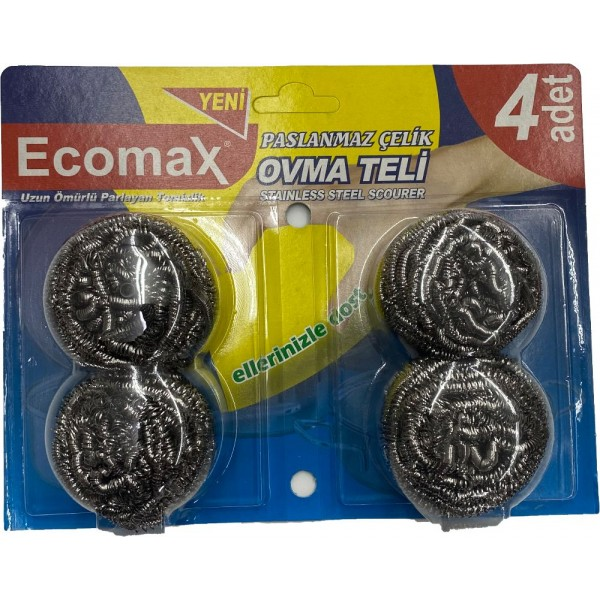 Ecomax Stainless Steel Scourer
