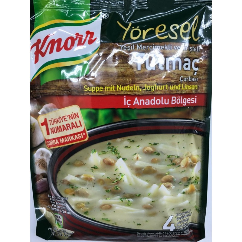 Knorr Tutmac Soup