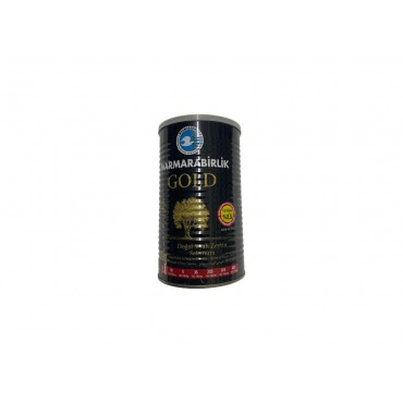 Marmarabirlik Gold XL Naturel Black Olives 800g Net Weight 1260g