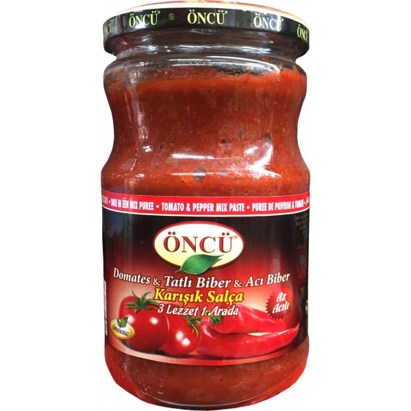 Oncu Tomato & Pepper Mixed Paste 700g