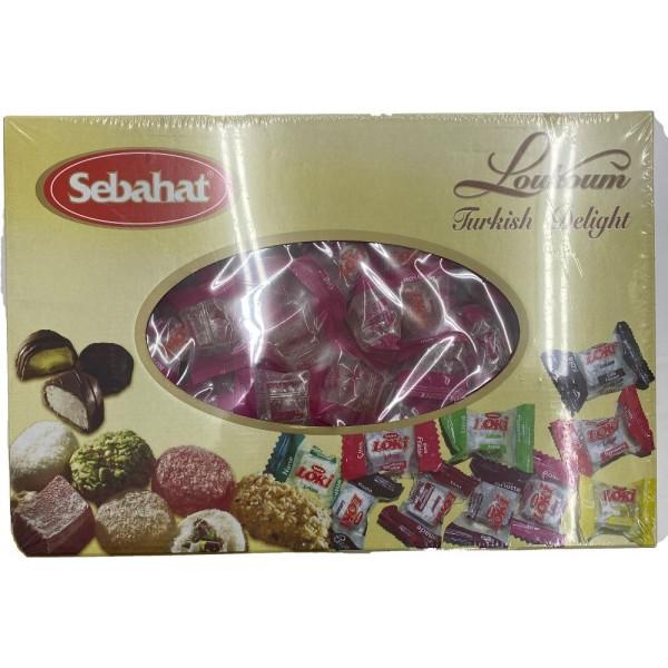 Sebahat Turkish Delight Rose Flavoured Mini Packs 2500kg