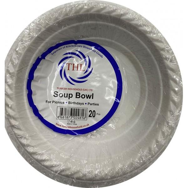 THL Plastic Soup Bowl 20pcs