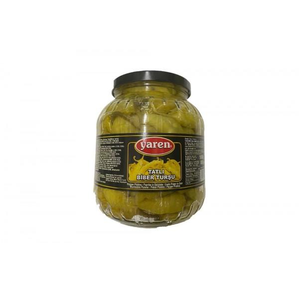 Yaren Sweet Pepper Pickles  Net  Weight 1600g Drained Weight 800g
