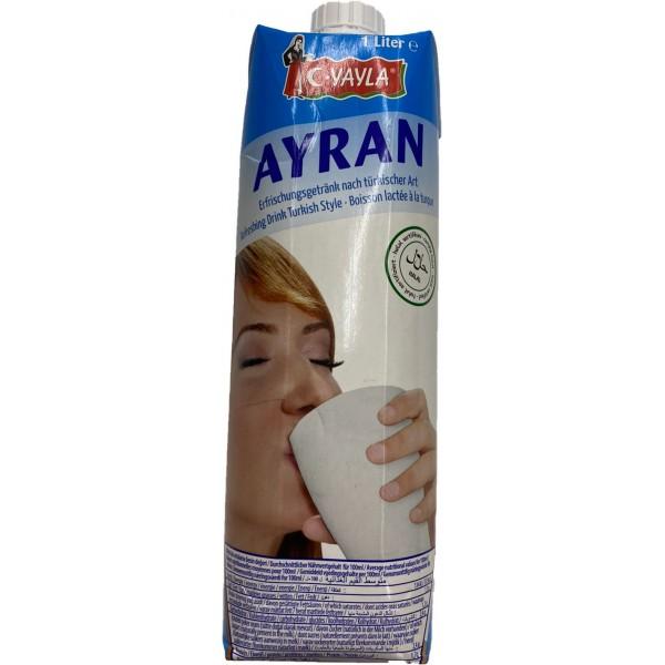 Yayla Natural Ayran Yogurt Juice 1lt