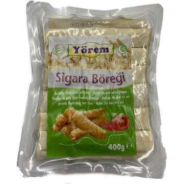 Yorem Rolled Filo With White Cheese 400gr