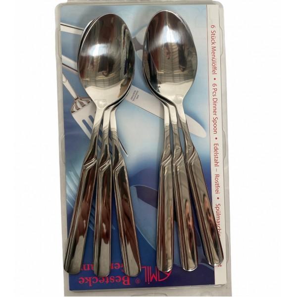 AMiL 6 Pcs Dinner Spoon