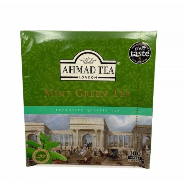 Ahmad Tea Mint Green Tea 100 Bags