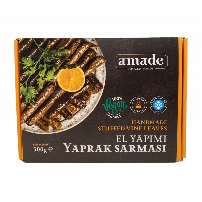 Amade Stuffed Vine Leaves With Rice 300g