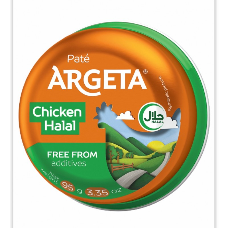 Argeta Chicken Pate Halal 95g