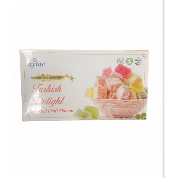 Aytac Turkish Delight Mix Fruit Flavour 350g