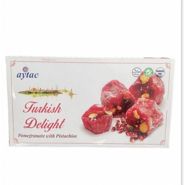 Aytac Turkish Delight Pomegranate With Pistachio 350g