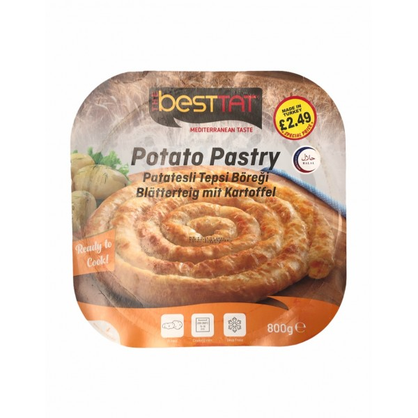 Besttat Potato Pastry 800g